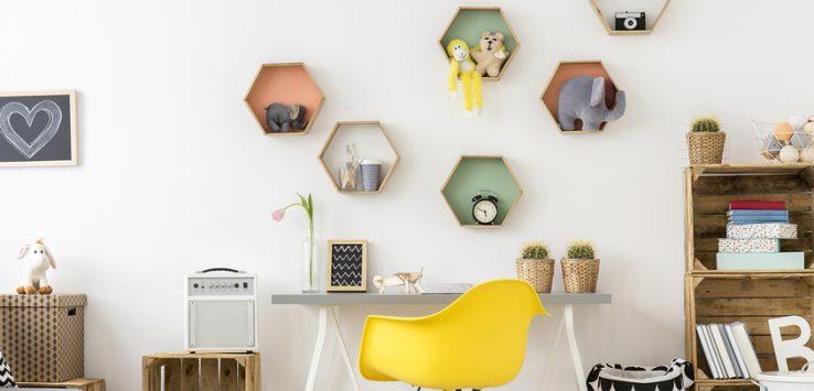 ... Im Kinderzimmer Durchaus Kräftige Leuchtende Farben Zum Einsatz Kommen  Dürfen. Für Die Dekorative Gestaltung Der Wände Gibt Es Zahlreiche  Möglichkeiten.